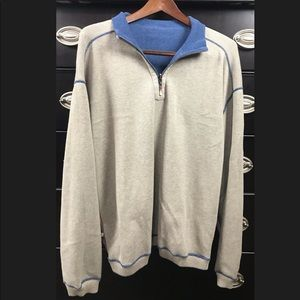 Tommy Bahama Mens REVERSIBLE Pullover Sweater